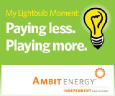 save on energy, electricity for free, Ambit energy, discount natural gas, electricity for free